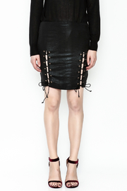 Olivaceous Side Tie Skirt - Front full body