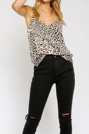 Olivaceous Silky Leopard Camisole - Product Mini Image