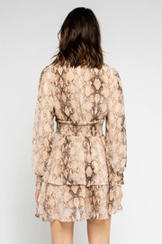 Olivaceous Snake Print Mini - Back cropped