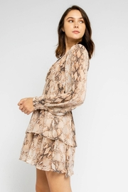 Olivaceous Snake Print Mini - Side cropped