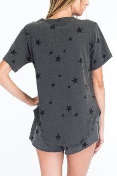 Olivaceous Star Lace-Up Shirt - Alternate List Image