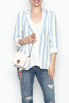 Shoptiques Product: Stripe Linen Blazer