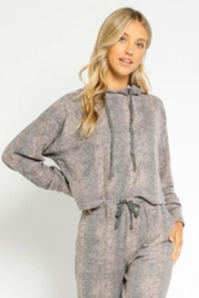 Olivaceous Sweater Pants Set - Front cropped