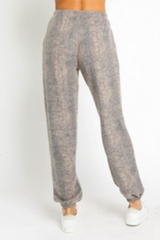 Olivaceous Sweater Pants Set - Back cropped