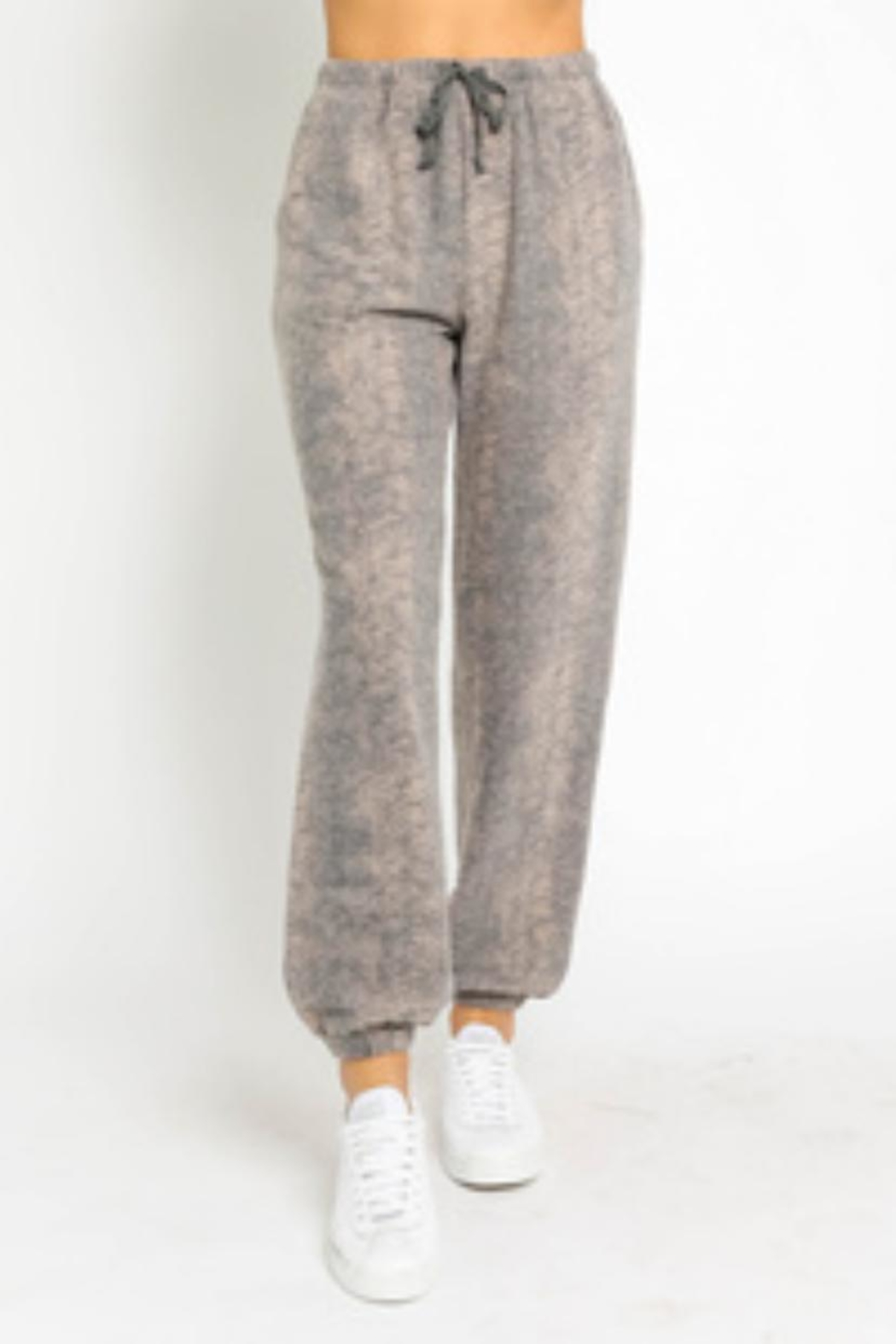 Olivaceous Sweater Pants Set - Side Cropped Image