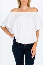 Olivaceous Swing Off Shoulder - Product Mini Image