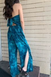 Olivaceous Tie Dye Jumper - Front full body