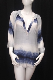 Olivaceous Tie-Dye Ombre Top - Product Mini Image