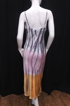 Olivaceous Tie-Dye Slip Dress - Alternate List Image