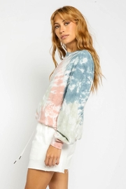 Olivaceous Tie Dye Sweatshirt - Front full body