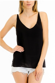 Olivaceous V-Neck Tank - Product Mini Image