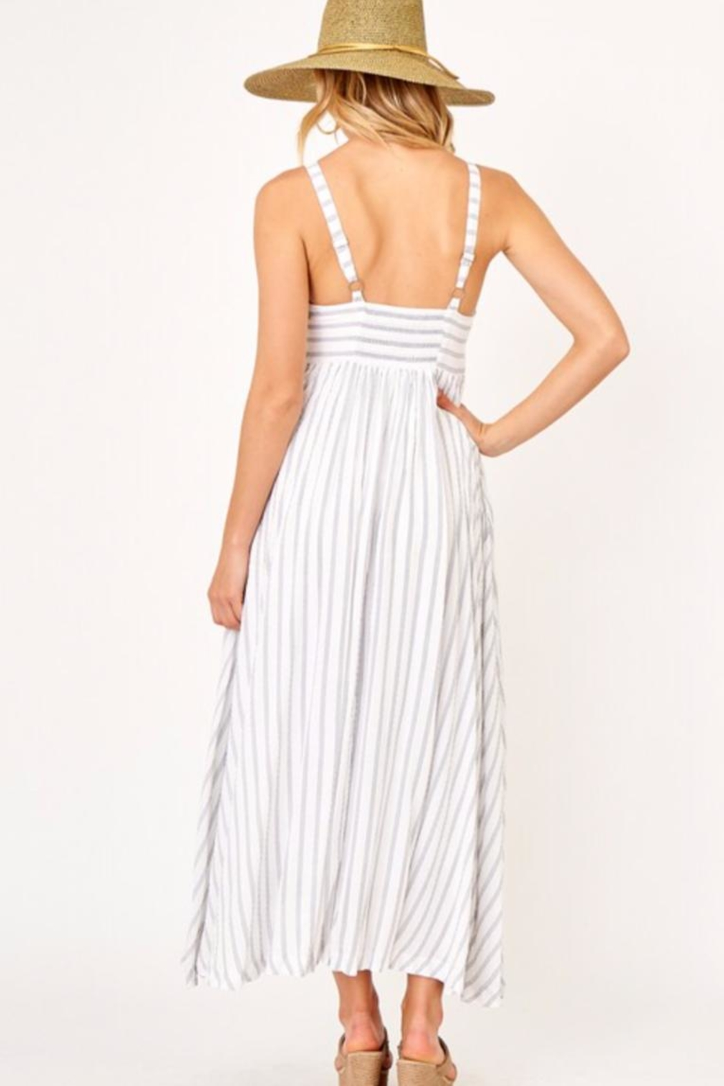 Olivaceous Weekender Maxi - Front Full Image