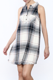 Olive & Oak Aberdeen Flannel Dress - Product Mini Image