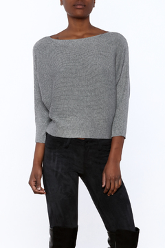 Olive & Oak Grey Sweater Top - Product List Image