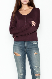 Olive & Oak Evie Henley Top - Product Mini Image