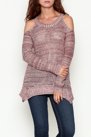 Olive & Oak Maroon Knit Sweater - Product Mini Image