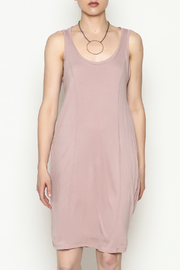 Olive & Oak Mauve Twist Back Dress - Product Mini Image