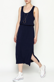 Olive & Oak Navy Racerback Dress - Product Mini Image