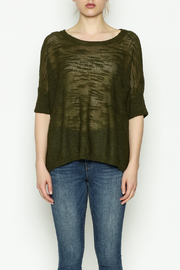 Olive & Oak Olive Lightweight Sweater - Front full body