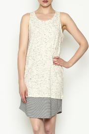 Olive & Oak White Sleeveless Dress - Product Mini Image