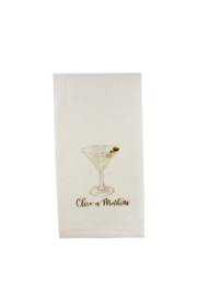 The Birds Nest OLIVE A MARTINI DISHTOWEL - Product Mini Image