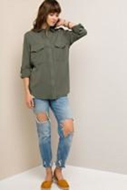 Entro Olive Blouse Blouse - Side cropped