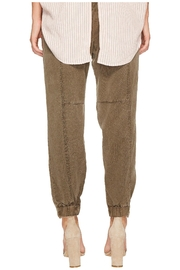 1.State Olive Bran Pant - Front full body