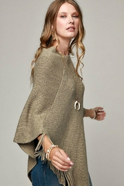 Ruggine Olive-Colored Poncho - Product Mini Image