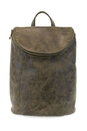 Joy Susan Olive Distressed Backpack - Product Mini Image