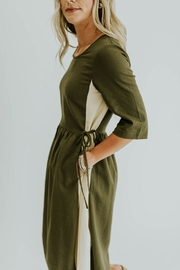 Pando Grove Olive Dress - Product Mini Image