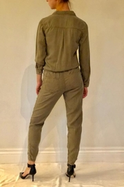 Sneak Peek Olive Flight Suit - Front full body