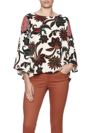 Olive Hill Ethnic Floral Top - Product Mini Image