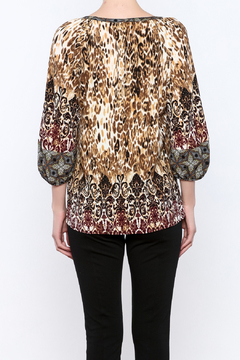 Olive Hill Mixed Print Blouse - Alternate List Image