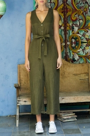 First Monday Olive Jumpsuit - Product Mini Image