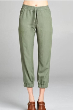 Color Thread Olive Lounge Pant - Product List Image