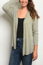 WFS Olive Plus Size Cardi - Product Mini Image