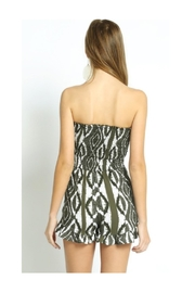 Polly & Esther Olive Romper - Front full body