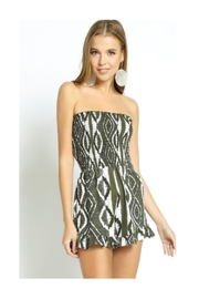 Polly & Esther Olive Romper - Product Mini Image
