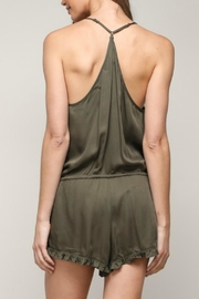 ALB Anchorage Olive Ruffle Romper - Other