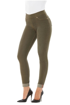Nygard Olive Skinny Jeans - Product List Image