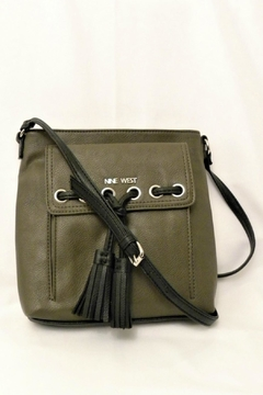 Nine West Olive Tassel Crossbody - Product List Image