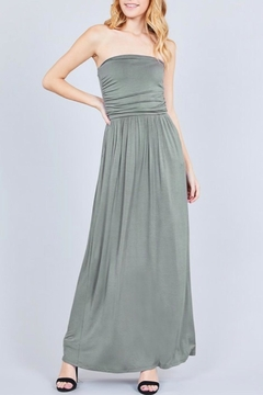 Active Basic Olive Tube Dress - Product List Image