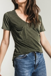 z supply Olive V Neck - Product Mini Image