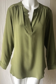 Amanda Uprichard Olive V-Neck Tunic - Product Mini Image