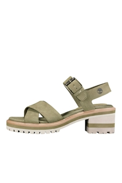 Shoptiques Product: Olive X-Band Sandal
