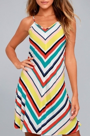 Olive & Oak Corey Stripe Dress - Product Mini Image