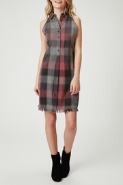 Olive & Oak Dane Plaid Dress - Product Mini Image