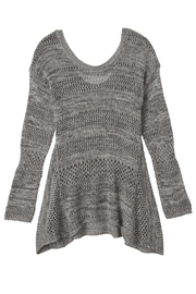 Olive & Oak Grey Knit Top - Product Mini Image