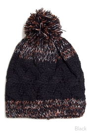 Olive & Pique Beanie With Pompom - Product Mini Image