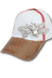 Olive & Pique Bling Baseball Cap - Front cropped